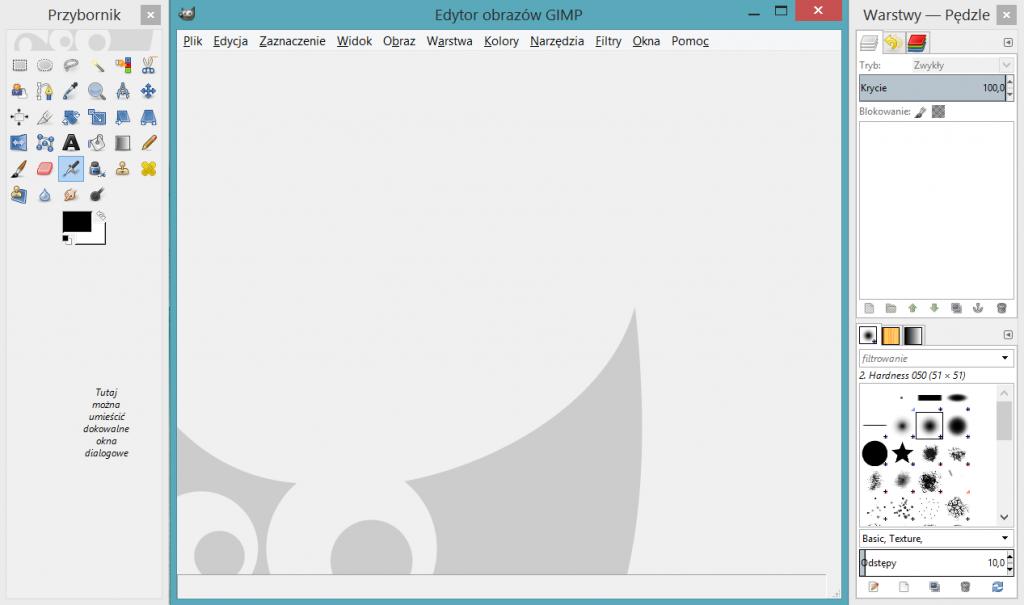 GIMP - screen
