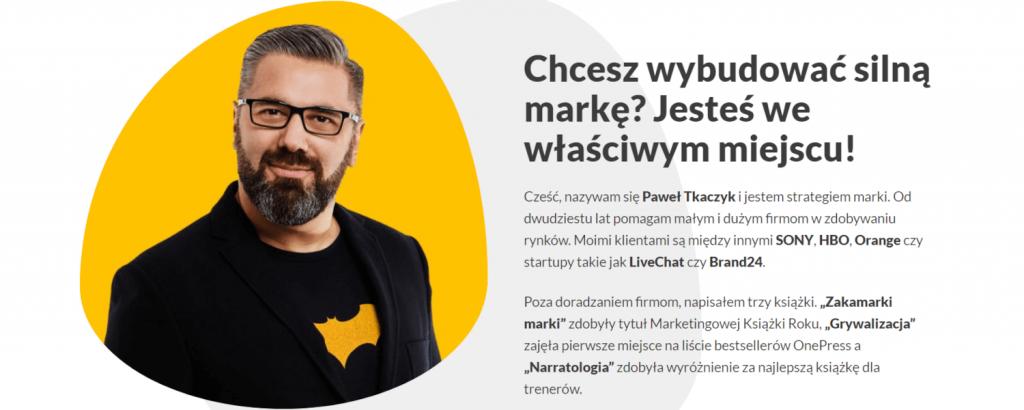Paweł Tkaczyk newsletter